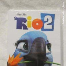 Cine: RIO 2, DVD, BIENVENIDO A LA SELVA... DE LA DIVERSION, NUEVA. Lote 112760223