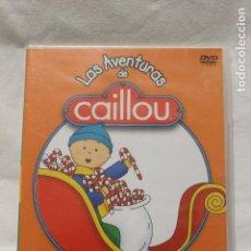 Cine: DVD, LAS AVENTURAS DE CAILLOU, EN FAMILIA, MAGIA NAVIDEÑA. Lote 112760255