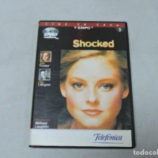 Cine: SHOCKED DVD. Lote 112795183