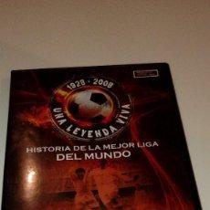 Cinema: G-21319 DVD HISTORIA DE LA MEJOR LIGA DEL MUNDO DI STEFANO CONTRA CUBALA . Lote 112823959