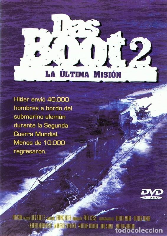 DVD DAS BOOT 2 LA ÚLTIMA MISIÓN (Cine - Películas - DVD)