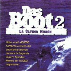 Cine: DVD DAS BOOT 2 LA ÚLTIMA MISIÓN. Lote 112861555