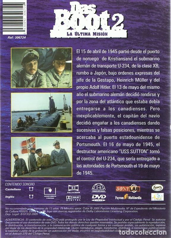 Cine: DVD DAS BOOT 2 LA ÚLTIMA MISIÓN - Foto 2 - 112861555