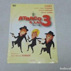 Cine: ATRACO A LAS 3 DVD. Lote 182695700