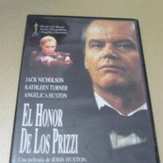 Cinéma: DVD EL HONOR DE LOS PRIZZI JOHN HUSTON JACK NICHOLSON KATHLEEN TURNER ANJELICA HUSTON RICHARD COND. Lote 112942543