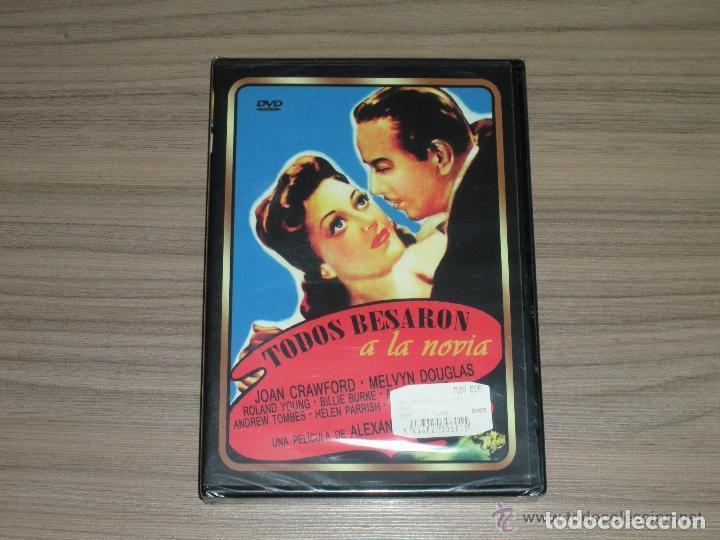 TODOS BESARON A LA NOVIA DVD JOAN CRAWFORD MELVYN DOUGLAS NUEVA PRECINTADA (Cine - Películas - DVD)