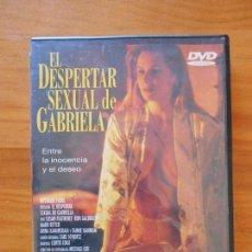 Cine: DVD EL DESPERTAR SEXUAL DE GABRIELA (9K). Lote 113061019