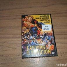 Cine: LAS VIAS DE LA TRAICION DVD JOHN PAYNE DAN DURYEA NUEVA PRECINTADA. Lote 222318040