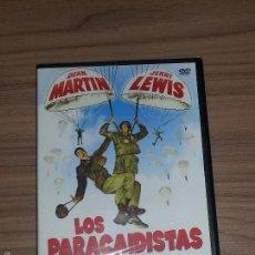 Cine: LOS PARACAIDISTAS DVD DEAN MARTIN JERRY LEWIS NUEVA PRECINTADA. Lote 186459185