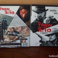 Cine: EL TREN DE LAS 3:10 - RUSSELL CROWE -CHRISTIAN BALE - DE JAMES MANGOLD - DVD. Lote 113185839