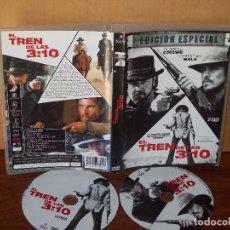 Cine: EL TREN DE LAS 3:10 - RUSSELL CROWE -CHRISTIAN BALE - DE JAMES MANGOLD - DVD DOBLE EDIC.ESP. Lote 113186115