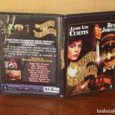 Cine: EL TREN DEL TERROR - JAMIE LEE CURTIS - BEN JPHNSON - DE ROGER SPOTTISWOODE - DVD CAJA FINA. Lote 113188147