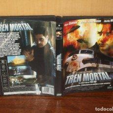 Cine: TREN MORTAL - BRYAN GENESSE - DIRIGIDA POR YOSSI WEIN - DVD. Lote 113188299