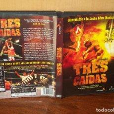 Cine: TRES CAIDAS -DOCUMENTAL LUCHA LIBRE MEXICANA -DE NACHO CABANA Y NOTRO FILMS - DVD . Lote 113188883