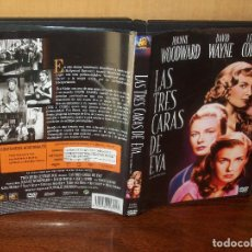 Cine: LAS TRES CARAS DE EVA - JOANNE WOODWARD - LEE J. COBB- DE NUNNALLY JOHNSON - DVD B/N. Lote 113189287