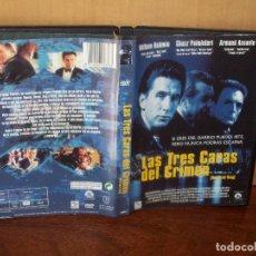 Cine: LAS TRES CARAS DEL CRIMEN - WILLIAM BALDWIN - ARMAND ASSANTE - DVD. Lote 113189475