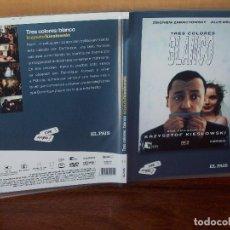 Cine: TRES COLORES BLANCO - JULIE DELPY- TRILOGIA DE KRZYSZTOF KIESLOWSKI - DVD CAJA FINA PERIOD. Lote 113189735