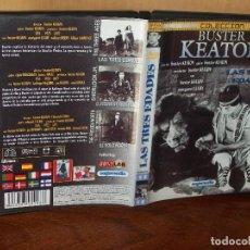 Cine: LAS TRES EDADES - BUSTER KEATON -DIRIGIDA POR BUSTER KEATON - DVD B/N. Lote 113190459