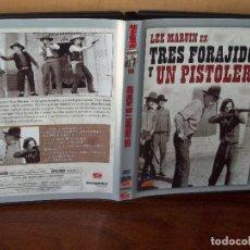 Cine: TRES FORAJIDOS Y UN PISTOLERO - LEE MARVIN - DE RICHARD FLEISCHER - DVD. Lote 113190843