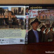 Cine: TRES FORAJIDOS Y UN PISTOLERO - LEE MARVIN - DE RICHARD FLEISCHER - DVD. Lote 113191095