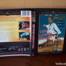 Cine: TRES LAMCEROS BENGALIES - GARY COOPER - DIRIGIDA POR HENRY HATHAWAY - DVD + TAPA CARTON + LIBRETO. Lote 113191451