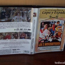 Cine: LOS 3 MOSQUETEROS - GERARD BARRAY - DIRIGIDA POR BERNARD BORDERIE - DVD . Lote 113191619