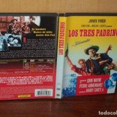 Cine: LOS TRES PADRINOS - JOHN WAYNE - DIRIGIDA POR JOHN FORD - DVD . Lote 113191939