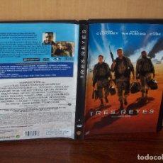 Cine: TRES REYES - GEORGE CLOONEY - ICE CUBE - MARK WAHLBERG - DVD . Lote 113192055