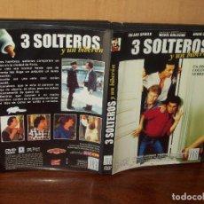 Cine: TRES SOLTEROS Y UN BIBERON - ROLAND GIRAULD - MICHEL BOUJENAH - ANDRE DUSSOLLIER - DVD . Lote 113192251
