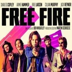 Cine: FREE FIRE AÑO 2017 CON ARMIE HAMMER, CILLIAN MURPHY, BRIE LARSON, ETC INNOVADORA. Lote 113210655