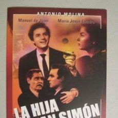 Cine: DVD LA HIJA DE JUAN SIMON. Lote 148520573