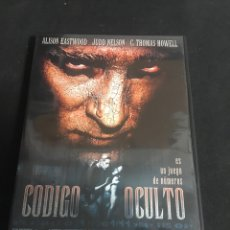Cine: CODIGO OCULTÓ ( DVD SEGUNDA MANO ). Lote 113276062