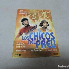 Cine: LOS CHICOS DEL PREU DVD. Lote 113299267