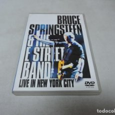 Cine: BRUCE SPRINGSTEEN & THE E STREET BAND - LIVE IN NEW YORK CITY DVD X2. Lote 113316659