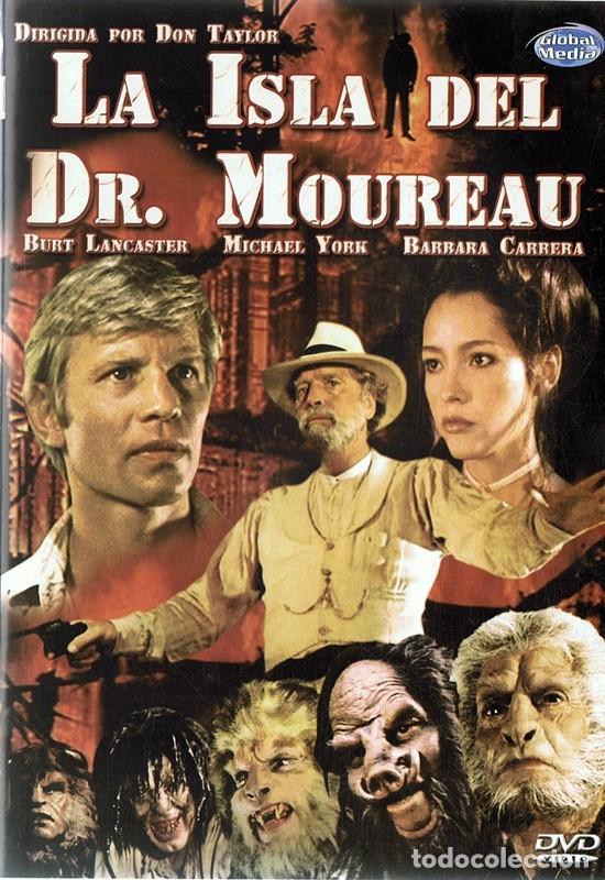 DVD LA ISLA DEL DR. MOREAU BURT LANCASTER (Cine - Películas - DVD)