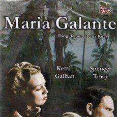 Cine: DVD MARIA GALANTE KETTI GALLIAN & SPENCER TRACY (PRECINTADO). Lote 113468183
