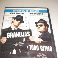 Cine: DVD. GRANUJAS A TODO RITMO. 2 DISCOS EDICIÓN ESPECIAL. 142 MINUTOS. (PROBADA Y BIEN). Lote 113512135