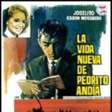 Cine: LA VIDA NUEVA DE PEDRITO ANDIA - JOSELITO, KARIN MOSSBERG, CARMEN BERNARDOS DVD NUEVO. Lote 113734126