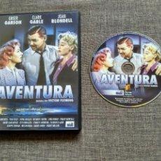 Cine: DVD AVENTURA - VICTOR FLEMING - GREER GARSON - CLARK GABLE - JOAN BLONDELL. Lote 113578391