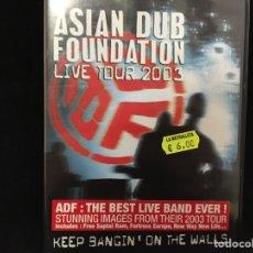 Cine: ASIAN DUB FOUNDATION - LIVE TOUR 2003 - DVD. Lote 113609416