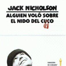 Cine: DVD ALGUIEN VOLÓ SOBRE EL NIDO DEL CUCO JACK NICHOLSON . Lote 113657511