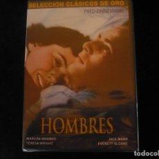 Cine: HOMBRES, MARLON BRANDO - DVD NUEVO PRECINTADO. Lote 113826323