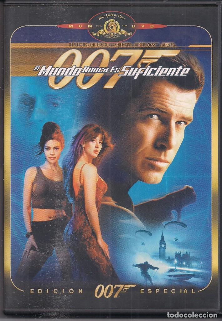 EL MUNDO NUNCA ES SUFICIENTE, JAMES BOND AGENTE 007 (Cine - Películas - DVD)