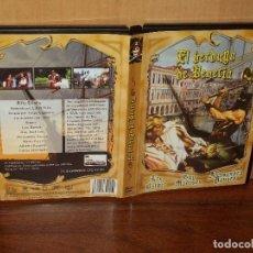 Cine: EL VERDUGO DE VENECIA - ALEX BARKER - ALESSANDRA PANARO - DIRIGIDA POR LUIGI CAPUANO - DVD. Lote 113987123
