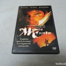 Cine: LA VENGANZA DEL CONDE DE MONTE CRISTO DVD. Lote 179943418