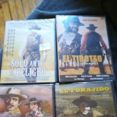 Cine: DVD WESTERN. 4 PELÍCULAS PRECINTADAS. Lote 114059928