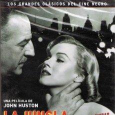 Cine: DVD LA JUNGLA DE ASFALTO STERLIN HAYDEN (PRECINTADO). Lote 114067851