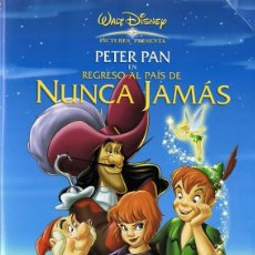 Cine: DVD PETER PAN REGRESO AL PAÍS DE NUNCA JAMÁS . Lote 114075175
