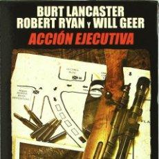 Cine: ACCION EJECUTIVA 1975 [DVD] DESCATALOGADO NUEVO Y PRECINTADO. Lote 114099307