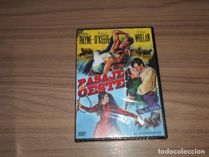PASAJE AL OESTE DVD JOHN PAYNE NUEVA PRECINTADA (Cine - Películas - DVD)